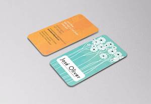 Business Card Design - José Oliver - Marriage & Civil Union Celebrant