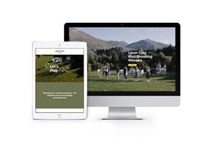 Website Design - Wanaka Laser Clays