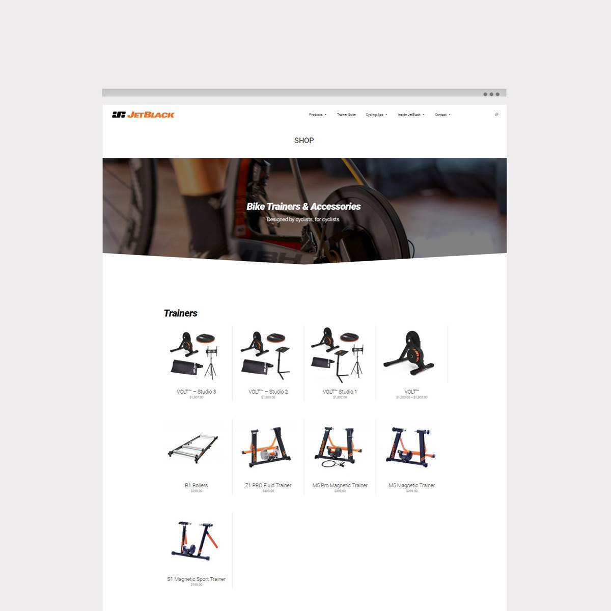 E-Commerce website by Envy Web & Design