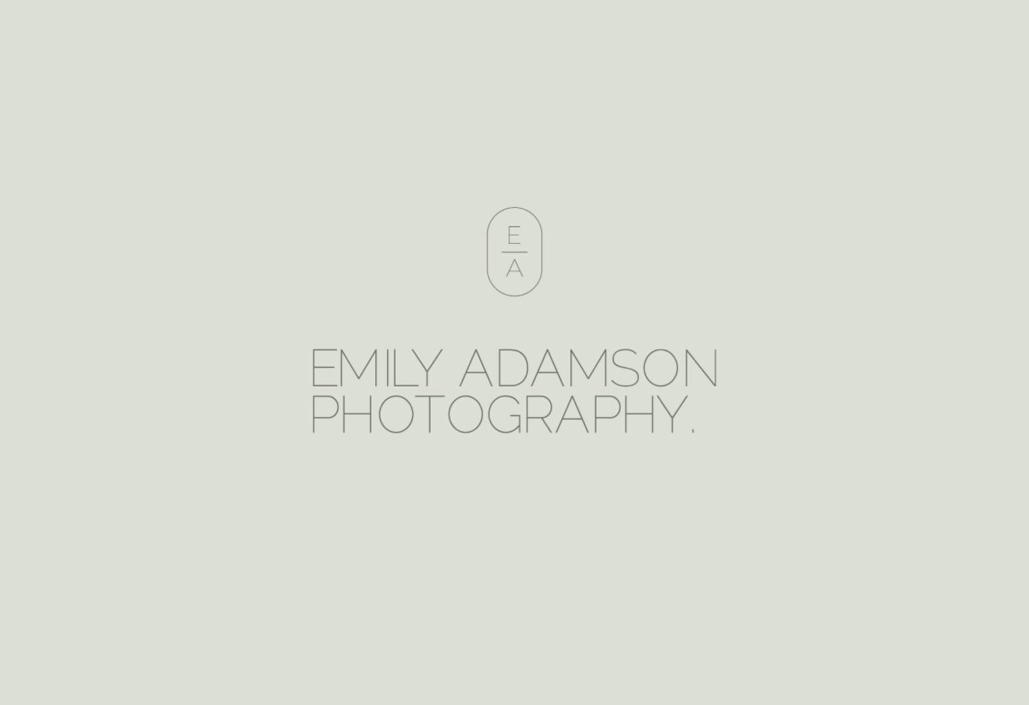 Emily Adamson - Queenstown Wedding Photography branding design