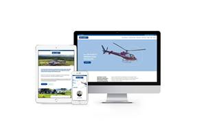 Website Design - Heli Hire Limited